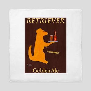 Retriever Golden Ale Queen Duvet