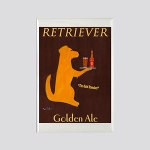 Retriever Golden Ale Rectangle Magnet
