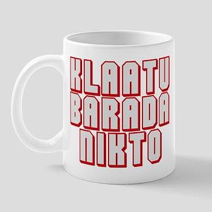 klaatu barada Nikto #3 Mug