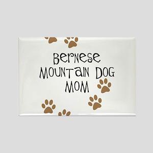 Bernese Mt. Dog Mom Rectangle Magnet