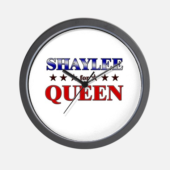 SHAYLEE for queen Wall Clock