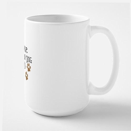 Bernese Mt. Dog Dad Large Mug