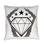 Prismatic Imperium Logo Everyday Pillow