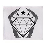 Prismatic Imperium Logo Throw Blanket