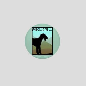 Craftsman Airedale Mini Button