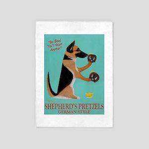 Shepherd's Pretzels 5'x7'Area Rug