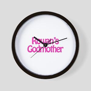 Rowan's Godmother Wall Clock
