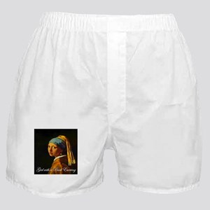 Girl with a Pearl Earring Boxer Shorts