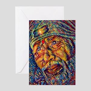 Sai baba greeting cards cafepress greeting card m4hsunfo