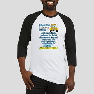 schoolbusdriverprayerpic1 Baseball Jersey