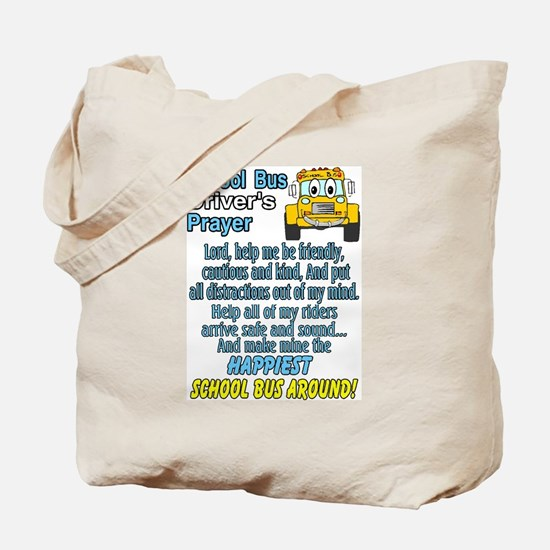 Cute Bus driver Tote Bag