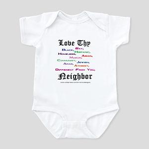 Love Thy Neighbor Infant Bodysuit