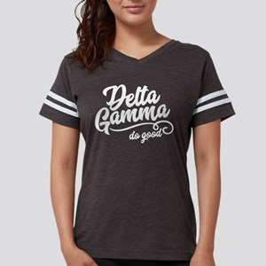 Delta Gamma Do Good Womens Football Shirt