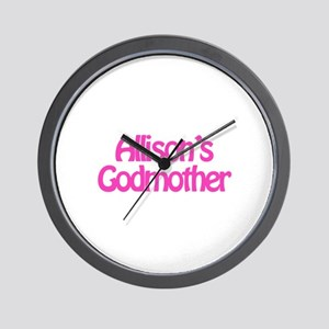 Allison's Godmother Wall Clock