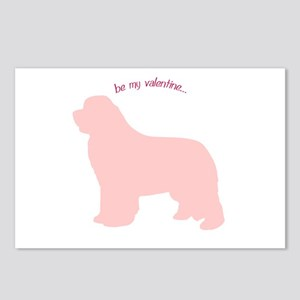 Newfie... Be My Valentine Postcards (Package of 8)