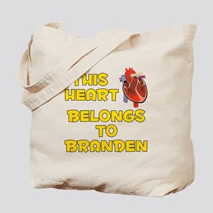This Heart: Branden (A) Tote Bag