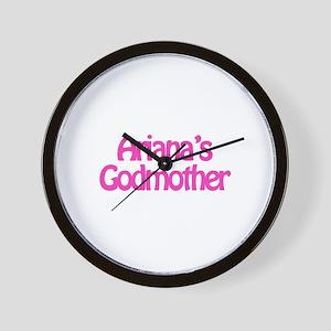 Ariana's Godmother Wall Clock