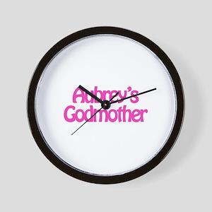 Aubrey's Godmother Wall Clock