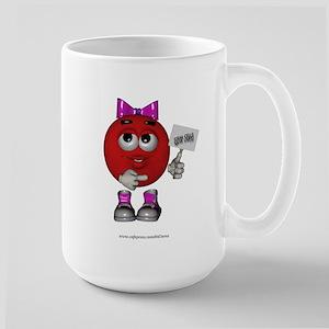 """""""Stem Cells Save Lives"""" Large Mug"""