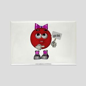 """""""Stem Cells Save Lives"""" Rectangle Magnet"""