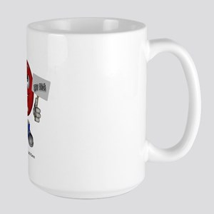 """Support Stem Cells"" Large Mug"