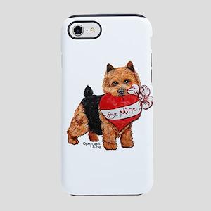 Norwich Terrier Valentine iPhone 8/7 Tough Case