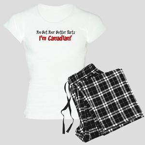 Bet Your Butter Tarts Canadian Pajamas