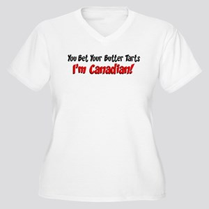 Bet Your Butter Tarts Canadian Plus Size T-Shirt