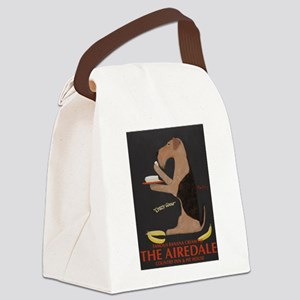 The Airedale Canvas Lunch Bag