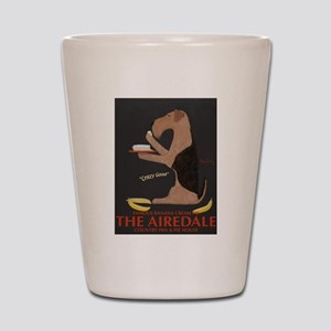 The Airedale Shot Glass