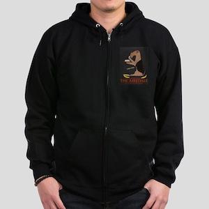 The Airedale Zip Hoodie (dark)