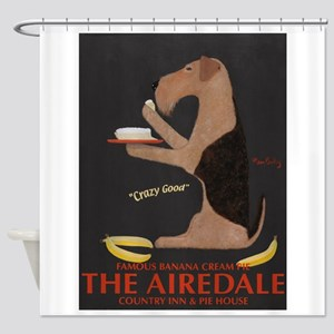 The Airedale Shower Curtain
