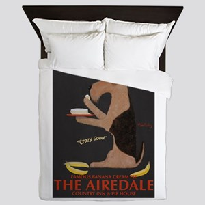 The Airedale Queen Duvet