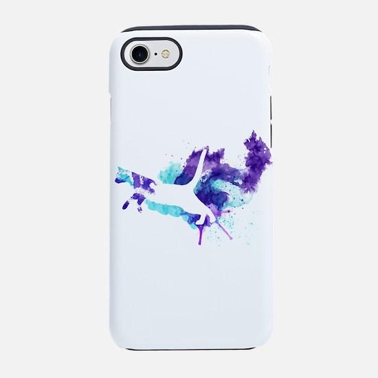 Watercolor Splat Cat iPhone 8/7 Tough Case