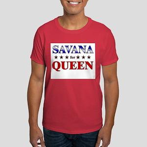 SAVANA for queen Dark T-Shirt