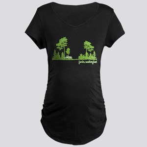 twilight shirt-forks,washington tree line Maternit
