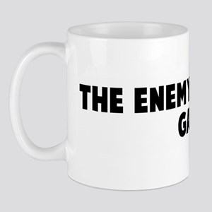 The enemy is at the gate Mug
