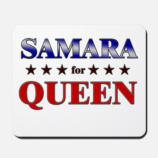 SAMARA for queen Mousepad