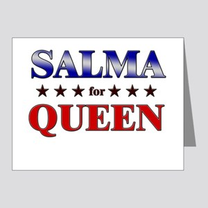 SALMA for queen Note Cards (Pk of 20)