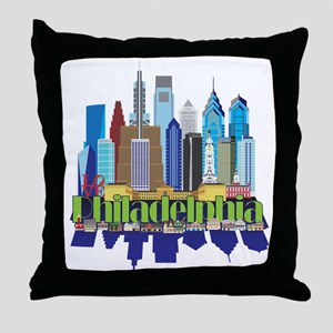 Philly New Icon Throw Pillow