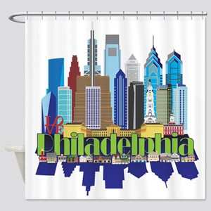 Philly New Icon Shower Curtain