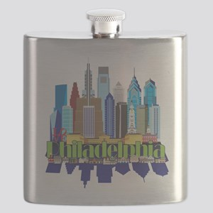 Philly New Icon Flask