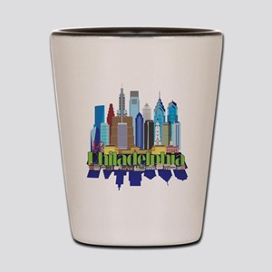 Philly New Icon Shot Glass