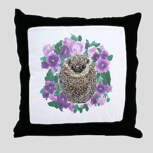 Petunia Hates Everyone Throw Pillow