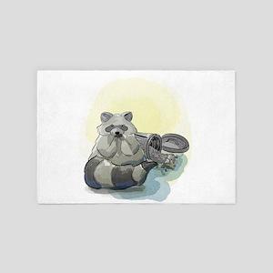 Trash Panda 4' x 6' Rug