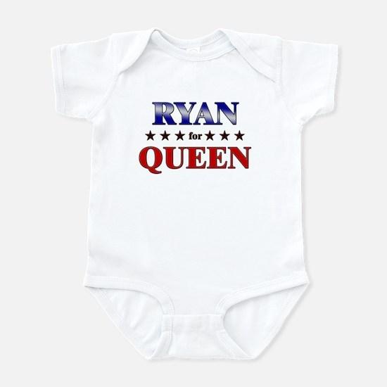 RYAN for queen Infant Bodysuit