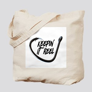 fishing, keepin it reel Tote Bag