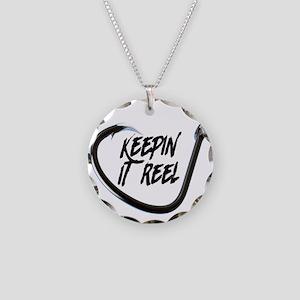 fishing, keepin it reel Necklace