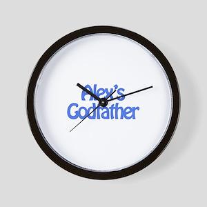 Alex's Godfather Wall Clock