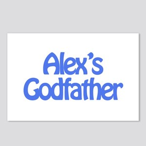Alex's Godfather Postcards (Package of 8)
